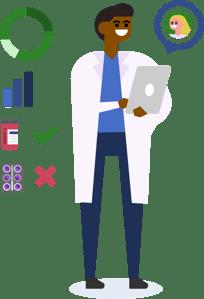 Cureatr Clinicals 360 Patient Data