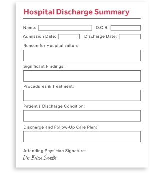 Hospital Discharge Summary
